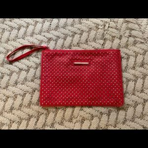 [The Limited] NWOT Red Clutch